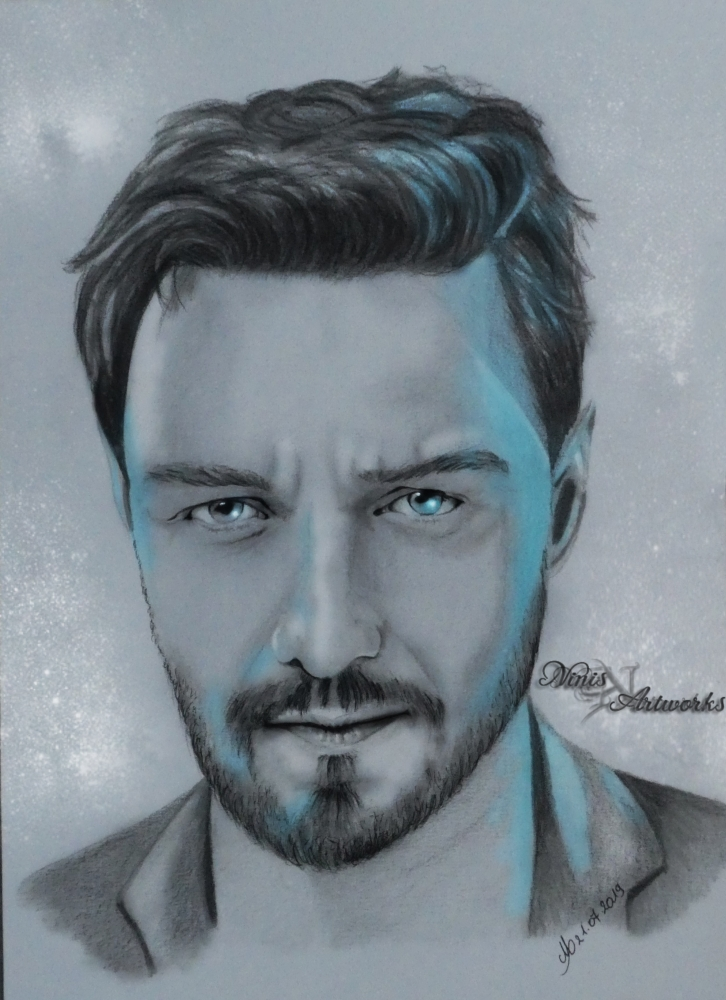 James McAvoy by Ninis